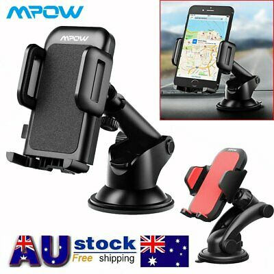 Mpow 360° Car Mobile Phone Windscreen Suction Mount Dashboard Holder Suction Pad