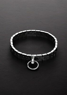 """Watchband Collar with Lock (17"""")  / TMS-0112"""