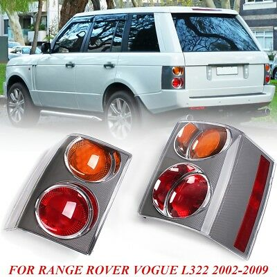 Pair Rear Tail Brake Lights Cluster Yellow&Red For RANGE ROVER VOGUE L322 02-09