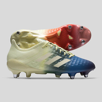 702858b2411d52 adidas Mens Predator Malice Control Soft Ground Rugby Boots Sports Shoes  Studs
