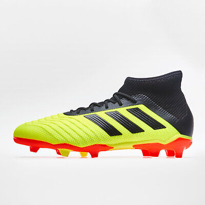 961d3d63a85 adidas Predator 18.1 Firm Ground Kids Football Boots Studs Trainers Sports  Shoes