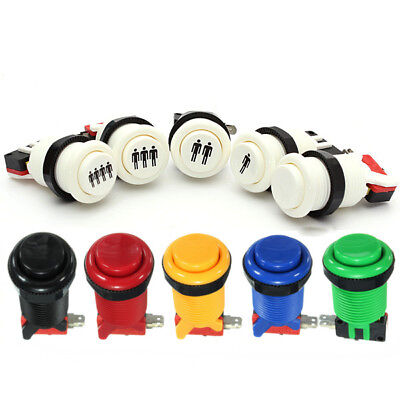 New Arcade Push Button Durable Long Switch For MAME Jamma Game Video Mult-color