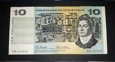 1966 Coombs-Wilson Commonwealth of Australia $10 dollar note, VF+