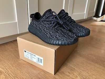 Yeezy-Style Sneakers Runners Pirate Black 350 V1