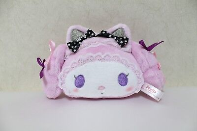 Sanrio Smiles Japan My Melody Halloween Cat Face Plush Mascot