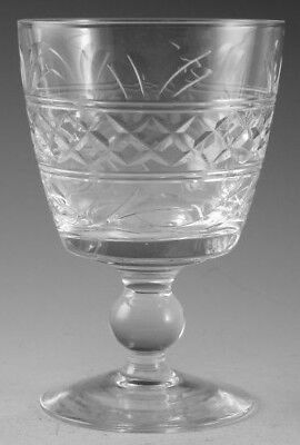 """STUART Crystal - IMPERIAL Cut - Water Glass / Glasses - 5"""" (2nd)"""