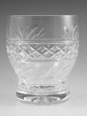 "STUART Crystal - IMPERIAL Cut - Tumbler Glass / Glasses - 3 3/4"" (2nd)"