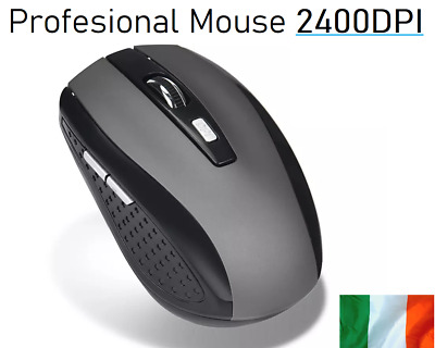 X40 Game Mouse 2400DPI 2.4GHz Wireless 6 Buttons Optical Gaming Mouse Computer