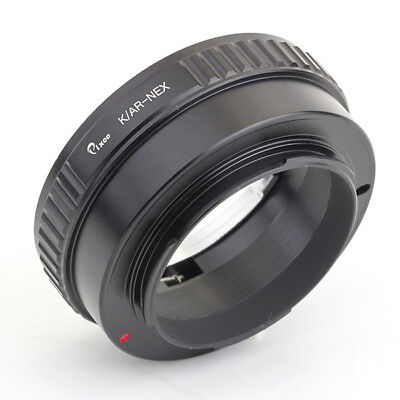 Pixco Lens Adapter For Konica AR Lens to Sony E Mount Adapter NEX 5 6 7 5N 5R