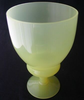 Pv France Portieux Vallerysthal Yellow Glass Opaline Bowls 6375