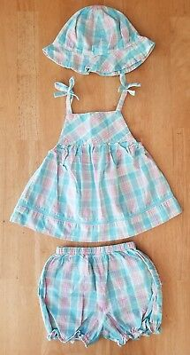 Baby Girls Clothes 2 Piece Outfit Set Size 6 9 Months Little