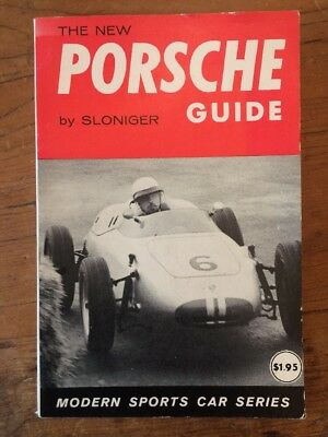 The New Porsche Guide - Sloniger - Automobile Book - 1961