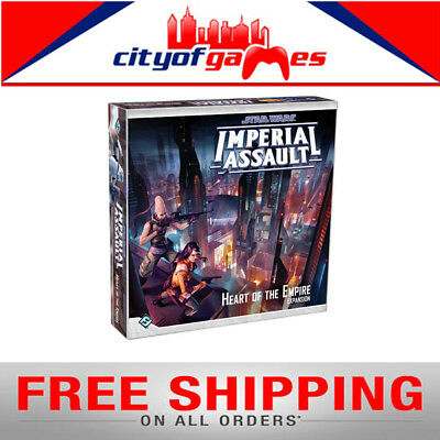 Star Wars Imperial Assault Heart of the Empire Board Game New Free Shipping