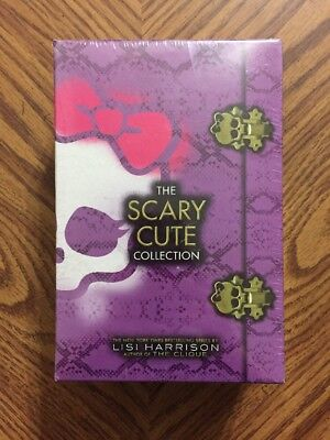 Monster High The Scary Cute Collection 4 Book Set New Sealed