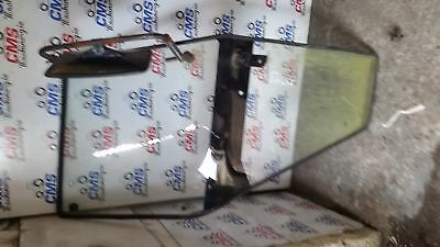 Deutz Fahr DX Series Cab Door Right Assembly with Mirror and Bracket.