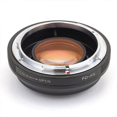 Focal Reducer Speed Booster Fr Canon FD Lens to Fujifilm FX Adapter X-T1 X-E1 X-