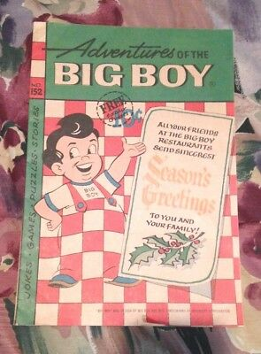 Estate Vintage #152 Adventure of the BIG BOY Christmas Edition Comic