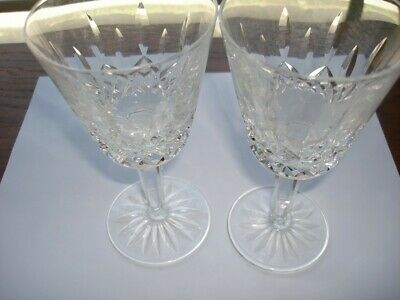 """Waterford Crystal Lismore Claret Glass 5 7/8"""" Set of 4"""