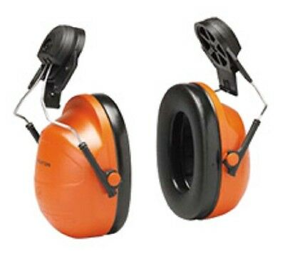 Peltor H31P3E HiViz Hard Hat Mounted Ear Muffs Helmet Hearing Protection Earmuff