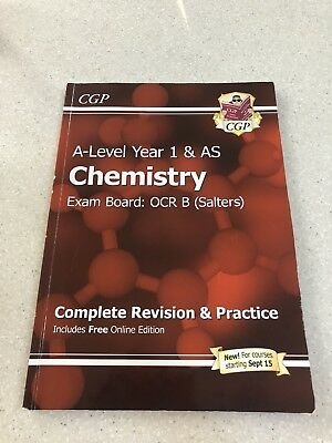 A-Level Year 1 AS Chemistry OCR B (Salters) Revision Guide And Practice