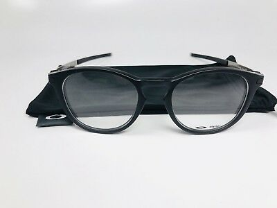 cd4d28311e New Oakley OX8105-0150 Satin Black Pitchman Eyeglasses 50 19 140 with Cloth