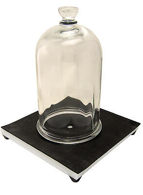 NC-12891 Bell Jar and Vacuum Plate Combo, 1/2 gal, Free Shipping lower 48.