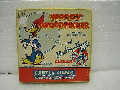 Vintage 8mm Woody Woodpecker #508 Invisible Woody Walter Lantz Cartoon