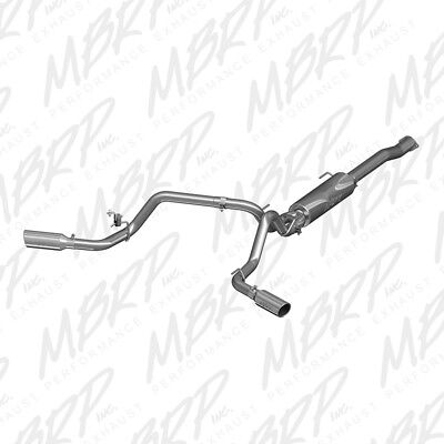 MBRP Exhaust S5340AL Exhaust System Kit fits 2016-2018 Toyota Tacoma 3.5L