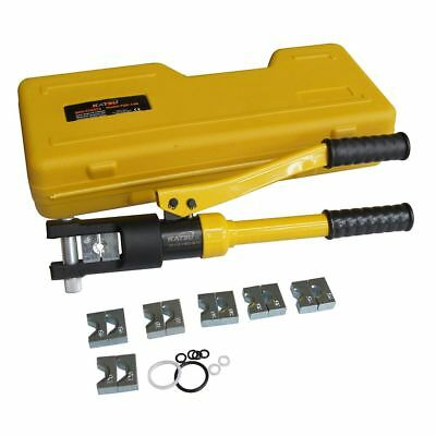 416372 Hydraulic Crimper Plier Cable Crimping Crimper Tool Kit 8 Die 10 To 120mm
