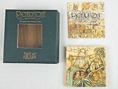 Harmony Kingdom Magnetic Tile Picturesque Noahs Park Krakatoa Lounge