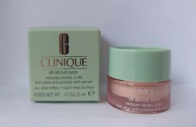 CLINIQUE all about eyes Augencreme 5ml  *Neu& ovp*