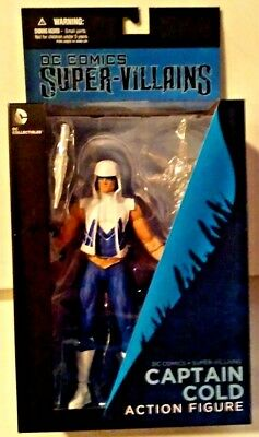 Super Villains Captain Cold Action Figure DC Collectibles Brand *NEW* Sealed 52