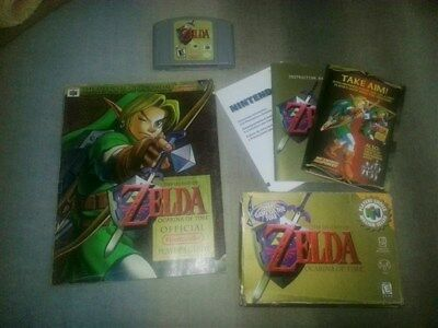Nintendo 64 Legend of Zelda: Ocarina of Time Combo: Game + Guide Used Perfect