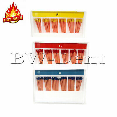 Dental Endodontic Obturation Gutta Percha Points F1 F2 F3 Universal 60pcs/box