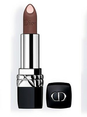 First Dior Double Rouge Matte Metallic Lipstick 510 Jungle Beige Fall 2017 NIB