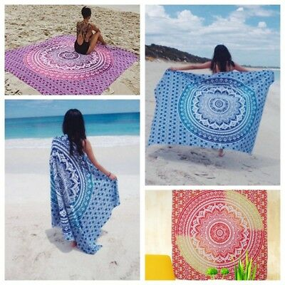 Large Lightweight Microfibre Beach Bath Towel Swimming Spa Sport Gym Travel Camp