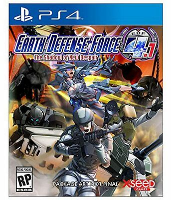 EARTH DEFENSE FORCE 4.1:SHADOW OF NEW DESPAIR  - PlayStation 4 - (BRAND NEW)
