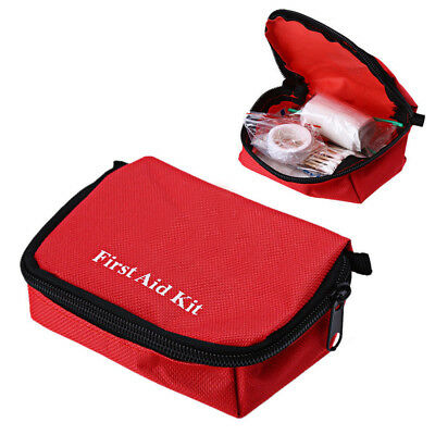 First Aid Bag Rescue Survival Bag Home Emergency Hiking Camping Travel Purse