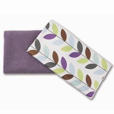 Norwex BASIC PACKAGE PURPLE GRAPE EnviroCloth Limited Edition LEAF Window Cloth