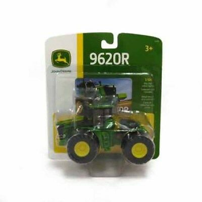 John Deere 1:64 9620R Tractor With Front And Rear Wheels Vehicle Toy for Kids