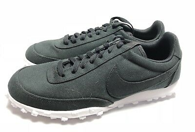 c4e301208bef Nike Waffle Racer 17 Textile Men s Size 9 Athletic Running Sneakers Shoes  Black