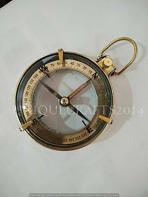 """Antique Nautical Brass Spencer Compass 3"""" Ship Instrument Collectible Royal Item"""