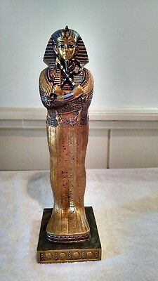 "King Tutankhamun Coffin Statue 16"" Myths & Legends The Egyptian Collection"