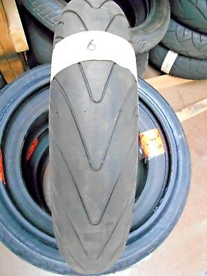 Michelin Pilot Road 2 Front 120 70 17 Motorcycle Tyre. Approx. 40% Tread #006
