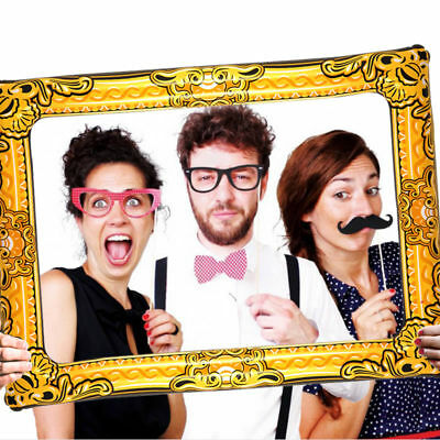 Giant Inflatable Photo Frame Selfie Frame Booth Props Party