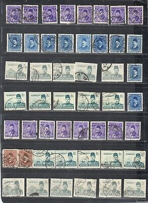 MM244 - ANCIENT AND USED - 1920 to 1965 Pyramids SET
