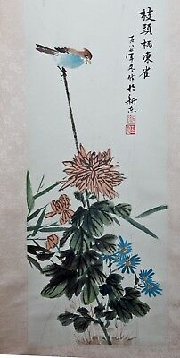 Original Chinese Scroll Painting Chinese Painting Hand Painted Feng Shui China