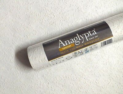 **NEW PRODUCT** Anaglypta, PASTE THE WALL, Reinforced Woodchip Wallpaper