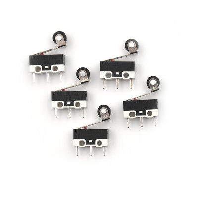 10x Ultra Mini Micro Switch Roller Lever Actuator Microswitch SPDT Sub SwitchA5C