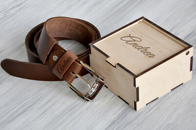 6946cb352e47 Custom Leather Belt Personalized Christmas Gifts for Men Anniversary from  Wife